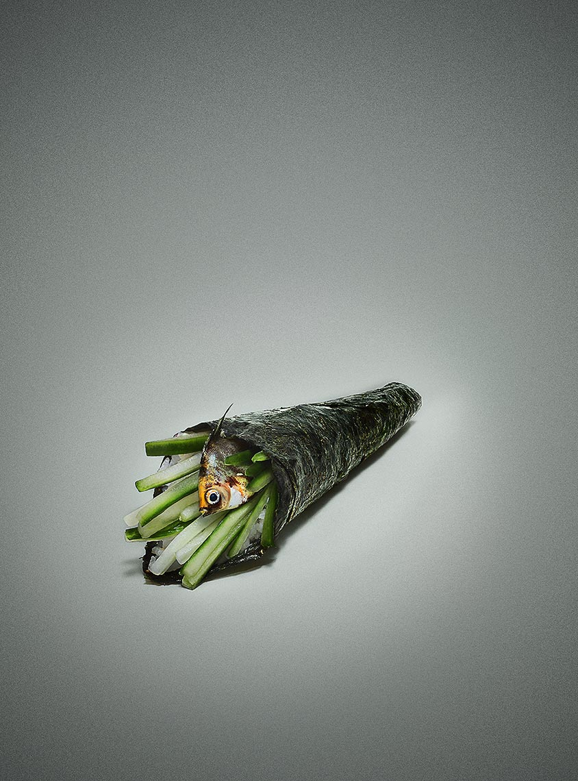Angel Fish Handroll