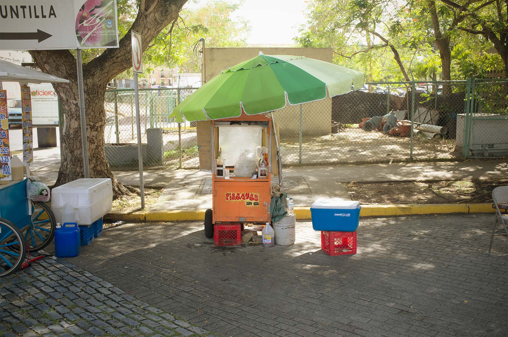 Puerto Rico Food Cart